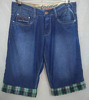 Бриджи джинсовые мужские р. 33, 34
