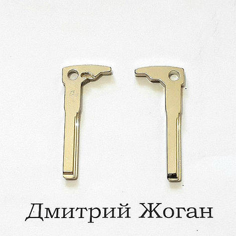 Лезвие смарт ключа Mercedes (Мерседес), фото 2