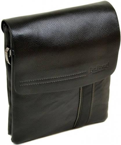 Замечательная мужская сумка-планшет из искусственной кожи dr.Bond 88328-3 black
