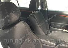Чохли на сидіння Тойота Авенсіс 2 (чохли з екошкіри Toyota Avensis 2 стиль Premium)