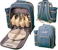 Термосумка-рюкзак с посудой Norfin ESLOV