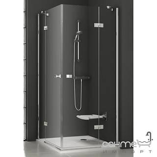 Душевые кабины, двери и шторки для ванн Ravak Душевые двери Ravak SmartLine SMSRV4-80 1SV44A00Z1 хром/прозрачное