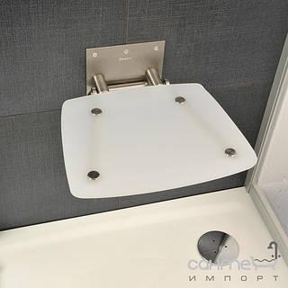 Душевые кабины, двери и шторки для ванн Ravak Сидение для ванной комнаты Ravak Ovo B opal B8F0000016