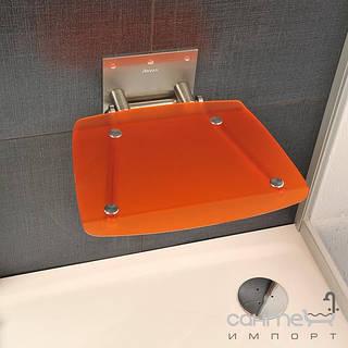 Душевые кабины, двери и шторки для ванн Ravak Сидение для ванной комнаты Ravak Ovo B orange B8F0000017