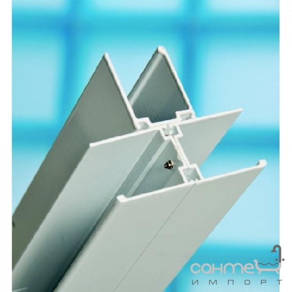 Душевые кабины, двери и шторки для ванн Ravak Соединительный T профиль для изделий Ravak Supernova E100000001