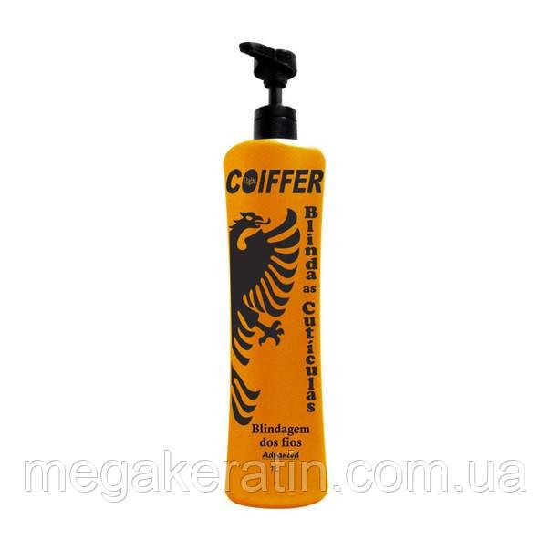Состав для кератинового выпрямления волос Blindagem Advanced 1литр от Coiffer