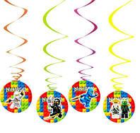 Спиральки-подвески Лего Ниндзяго