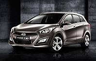 Автомобильные чехлы Hyundai i30 2012  HB , автоткань Bk/Bk