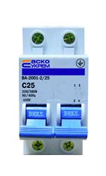 Автоматический выключатель АСКО 2п 25А
