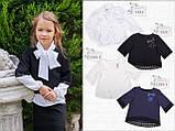 Школьная форма , Школьная юбка с кружевом (черная) МОНЕ р-р 122,128,134,140,146,152, фото 2