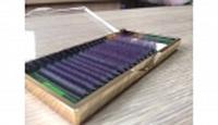 Ресницы на ленте Kodi (темно-фиолетовые) 0,07 В10-16 мм