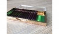 Ресницы на ленте Kodi (темно-бордовые) 0,15 В10-16 мм