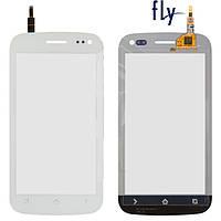 Сенсорный экран (touchscreen) для Fly IQ450Q, белый, оригинал