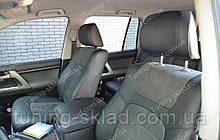 Чохли на Тойота Ленд Крузер 200 (авточохли Toyota Land Cruiser 200, Lether style)