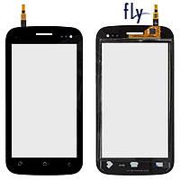Сенсорный экран (touchscreen) для Fly IQ450Q, черный, оригинал