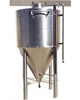 Центрально-конический танк для брожения-созревания пива 50 литров
