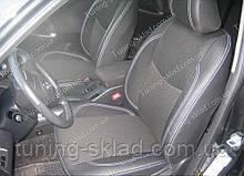 Чохли на сидіння Тойота Рав 4 покоління 3 (чохли з екошкіри Toyota Rav 4 покоління 3 стиль Premium)
