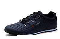 Кожаные кроссовки Columbia Step Way black, фото 1