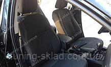 Чохли на сидіння Тойота Королла 11 (чохли з екошкіри Toyota Corolla XI стиль Premium)