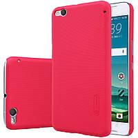 Чехол Nillkin для HTC One X9 красный (+плёнка)