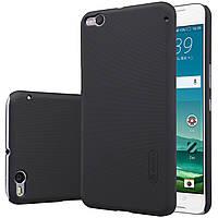 Чехол Nillkin для HTC One X9 чёрный (+плёнка)