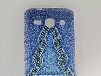 Чехол для смартфона Samsung G350H DS Galaxy Advance Джинс Елка
