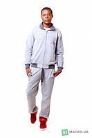 Мужской спортивный костюм трикотажный двухнитка