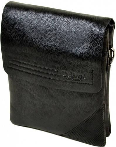 Стильная мужская вместительная сумка планшет из искусственной кожи dr.Bond 88335-3 black