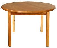 Стол деревянный с круглой столешницей 036 Финекс Плюс