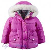 Carter's Куртка розовая 4 в 1