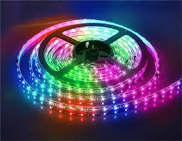 Светодиодная лента smd 5050 60д/м IP20 RGB