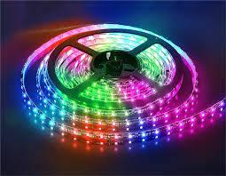 Светодиодная лента smd 5050 30д/м IP20 RGB, фото 2