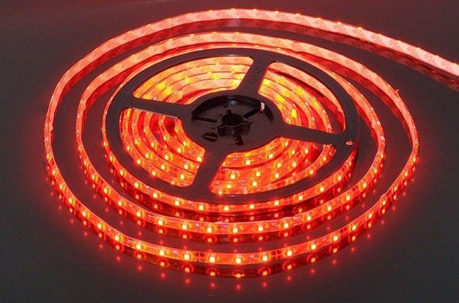 Светодиодная лента smd 3528 120д/м IP22 красный