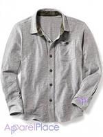 OldNavy Рубашка серая, Джерси