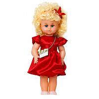 """Лялька """"МІЛАНА НАРЯДНА З СУМКОЙ"""" червона сукня (40см)"""