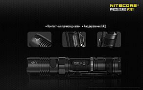 Фонарь карманный  Nitecore P12GT (Cree XP-L HI V3, 1000 люмен, 7 режимов, 1x18650), фото 2