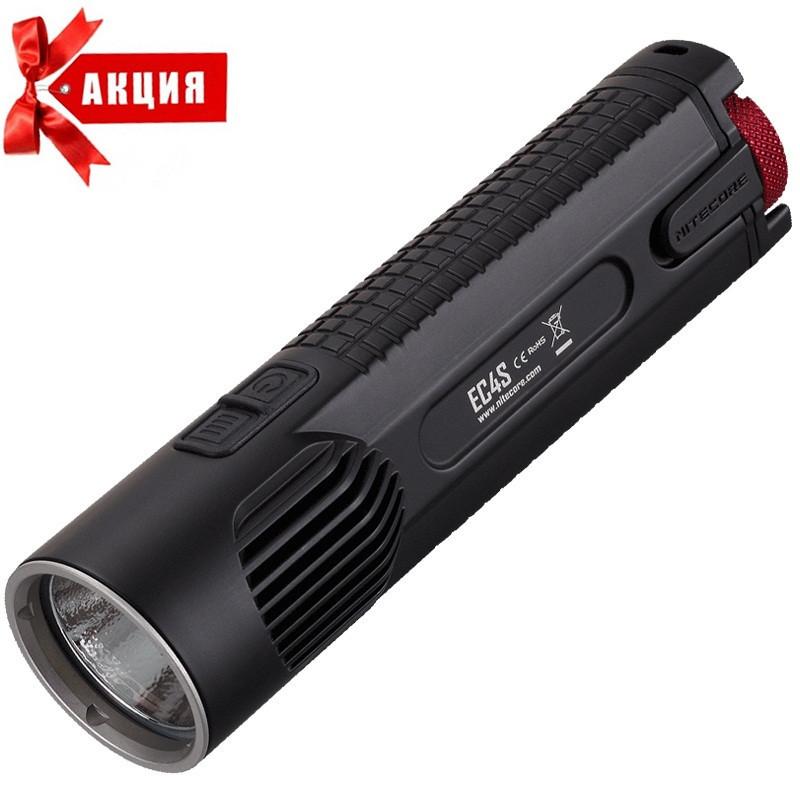 Карманный фонарь Nitecore EC4S (Cree XHP50, 2150 люмен, 8 режимов, 2x18650)