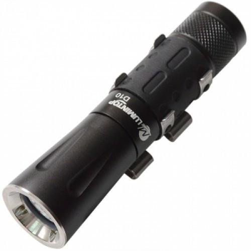 """Подводный фонарь Lumintop D10 на маску (Cree XP-G R5, 80 lumen, 2 modes, 1xAA/14500) - Интернет магазин освещения """"On-Light"""" в Днепре"""