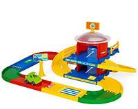Дитячий гараж Kid Cars 2 поверхи 3,4м Wader 53020