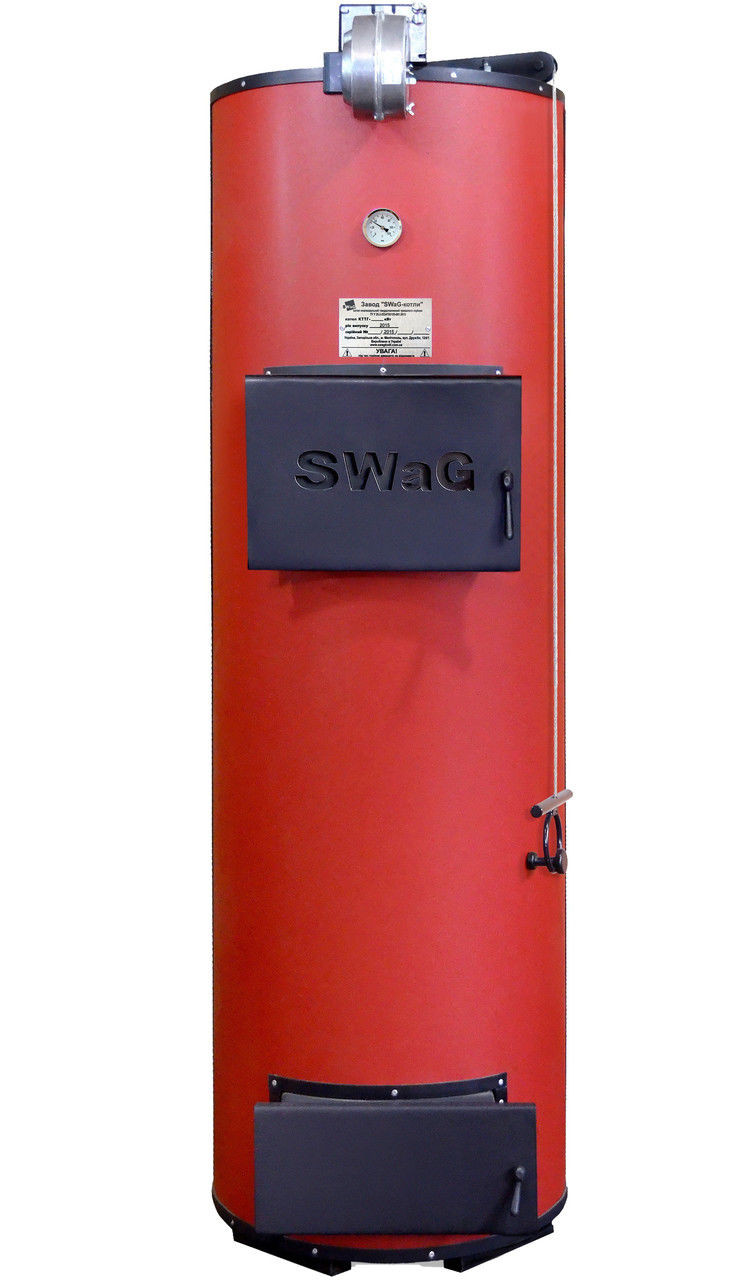 Отопительный котел на твердом топливе длительного горения Swag 20 U (Сваг Универсал)