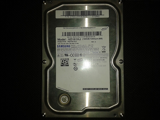 "Жесткий диск Samsung 160Gb, HD161HJ, Sata 3,5"" бу"