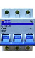 Автоматичний вимикач АСКО 3п 40А