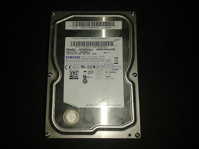 "Жесткий диск Samsung 200Gb, HD200HJ, Sata 3,5"""