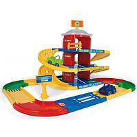 Дитячий паркінг Kid Cars 3 поверхи 4,6м Wader 53040