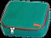Дорожный органайзер для косметики с отстегивающимся кармашком ORGANIZE (зеленый), фото 3