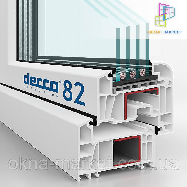 Купить пластиковые окна Decco недорого
