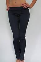 Утепленные женские лосины брюки на флисе №4