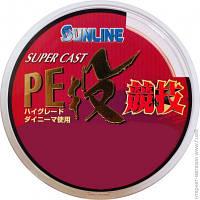 Рыболовные Лески И Шнуры Sunline S-Cast PE Nagi Kyogi 250м #0.6/0.128мм 4.4кг (16580113)