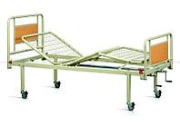Кровать функциональная трехсекционная, на колесах, со съемными спинками, с матрасом, , OSD (Италия)