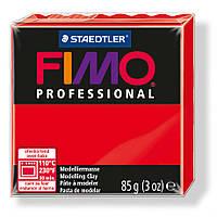 Полимерная глина Fimo professional. Красный. № 200. True Red. 8004-200.
